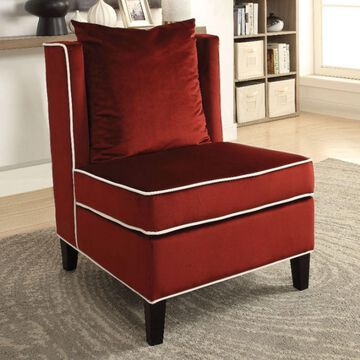 Benzara Modish Slipper Chair