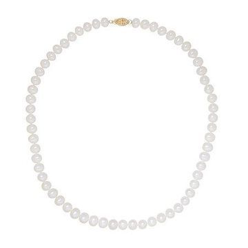 Certified Sofia 6-6.5mm Cultured Freshwater Pearl 18