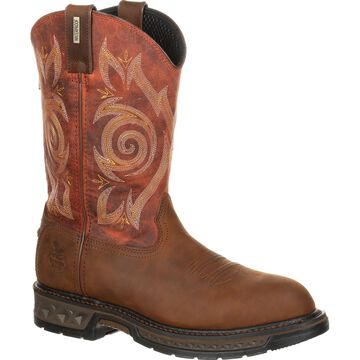 Georgia Boot Carbo-Tec LT Waterproof Pull-on Work Boot, #GB00241