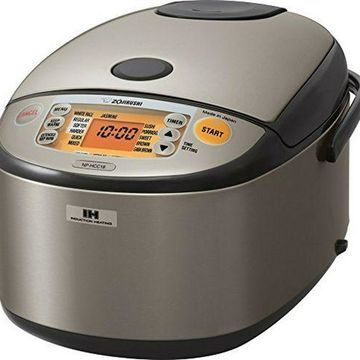 ''Zojirushi NP-HCC18XH Induction Heating System Rice Cooker and Warmer, 1.8 L, Sta''