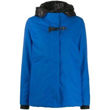 high-neck waterproof jacket