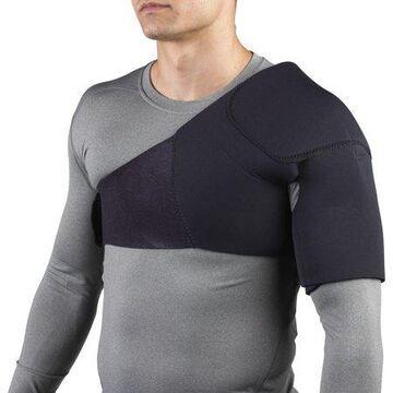 OTC Neoprene Shoulder Support, Black, Small