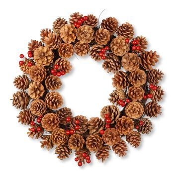 National Tree Company Pinecone Wreath