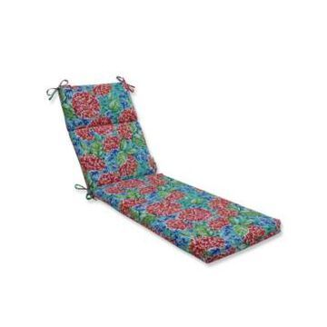 Pillow Perfect Garden Blooms Multi Chaise Lounge Cushion