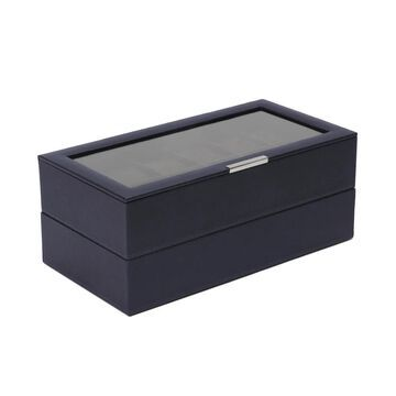 WOLF Stackable Set of 2 - 12 Piece Watch Trays