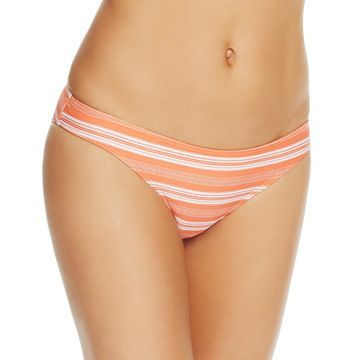 Minkpink Womens Striped Hipster Swim Bottom Separates