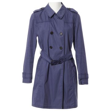 Prada Blue Cotton Coats