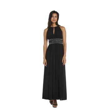 R&M Richards Long Beaded Dress