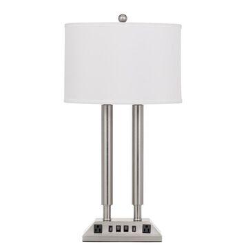 60W X 2 Metal Desk Lamp - Cal Lighting