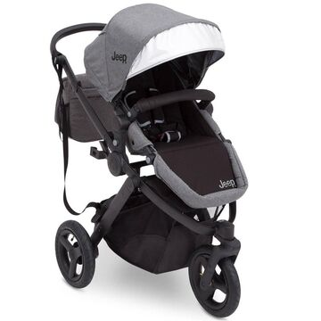 J is for Jeep Brand Sport Utility All-Terrain Jogger Stroller -