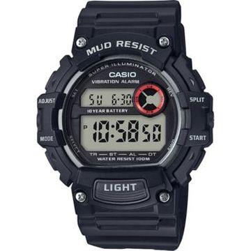 Casio Men's Digital Black Resin Strap Watch 47.9mm