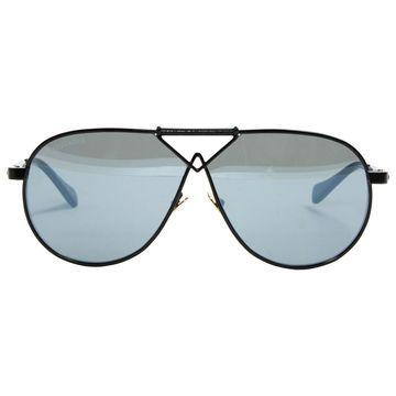 Altuzarra Black Metal Sunglasses