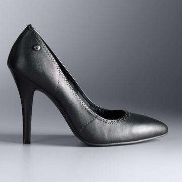 Simply Vera Vera Wang Essen Women's Leather High Heels