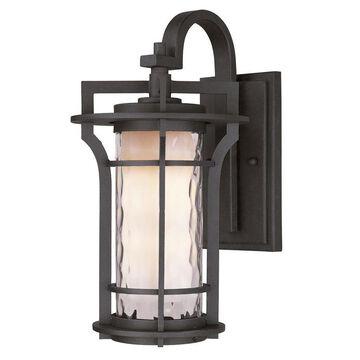 Maxim Lighting Oakville 21-in H Black Oxide Medium Base (E-26) Outdoor Wall Light