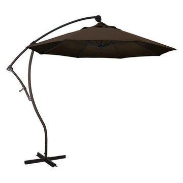 California Umbrella 9' Cantilever Umbrella in Mocha