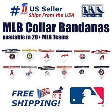 Pets First MLB Arizona Diamondbacks Dogs and Cats Collar Bandana - Small