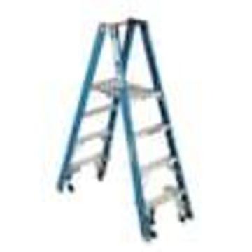 Werner 6-ft Fiberglass Type 1 - 250 lbs. Capacity Platform Step Ladder
