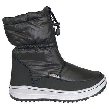 Wanderlust Women's Sasha Snow Boot Black/Black Fabric