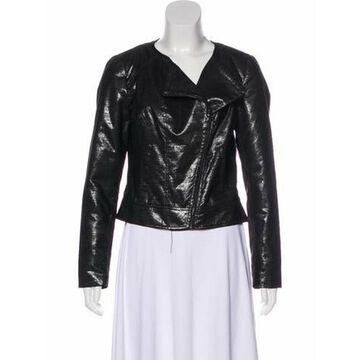 Long Sleeve Zip-Up Jacket Black