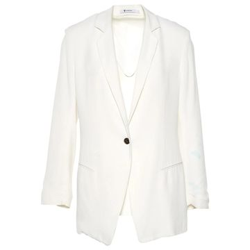 T By Alexander Wang White Polyester Jackets