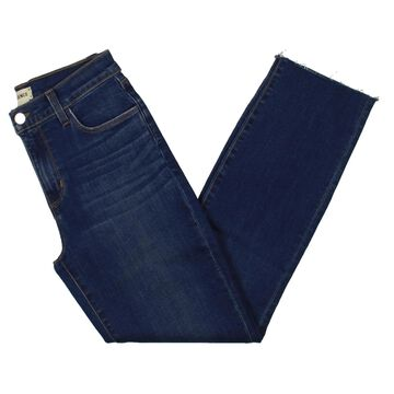 L'Agence Womens Ankle Jeans Denim Cropped - Blue