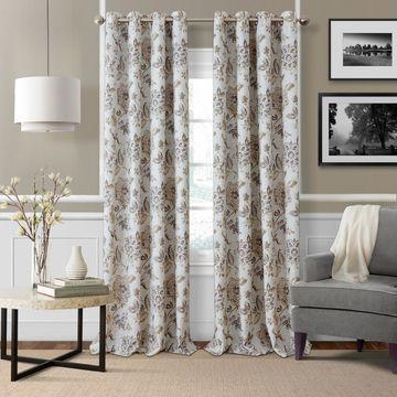 Elrene Sorrento Blackout Curtains Grommet-Top Curtain Panel