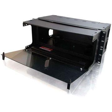 C2G Q-Series 4u 12-Panel Rackmount Fiber Optic Enclosure - 4U