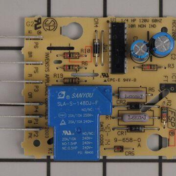 Kenmore Refrigerator Part # WPW10352689 - Main Control Board