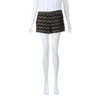 Derek Lam Black Wool Shorts