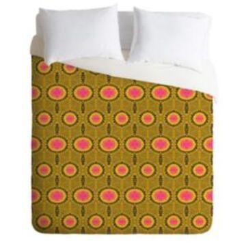 Deny Designs Holli Zollinger Zebrini Tribal Mambo Queen Duvet Set Bedding