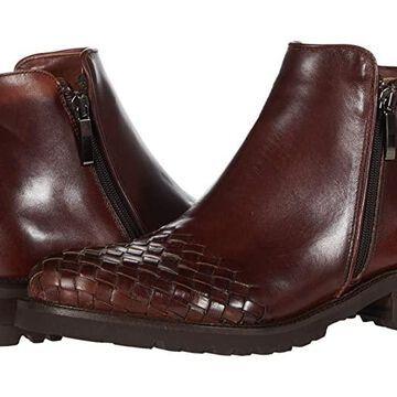 Sesto Meucci Daile (Dark Tan Antiqued Calf) Women's Boots