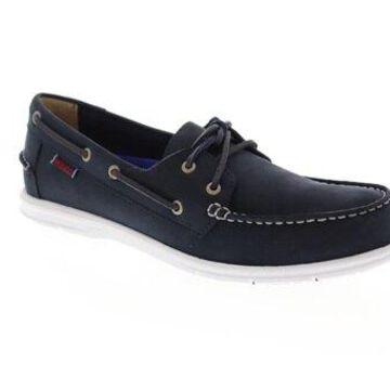 Sebago Litesides Fgl Blue Mens Casual Boat Shoes