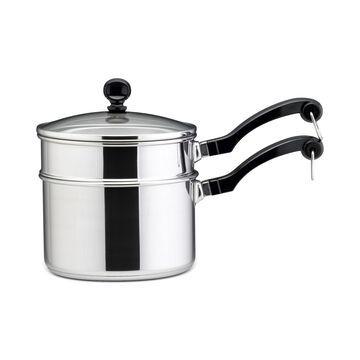 Farberware Classic Stainless Steel 2-Qt. Saucepan & Double Boiler