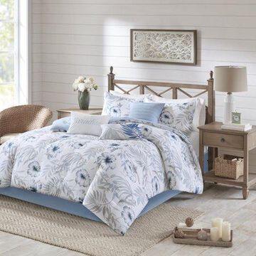 Home Essence Cadenza 7 Piece Cotton Printed Comforter Set