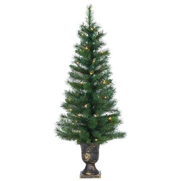 Sterling 4' Potted Hard/Mixed Needle Idaho Pine Artificial Christmas Tree