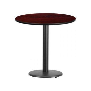 Flash Furniture Round Mahogany Table Top
