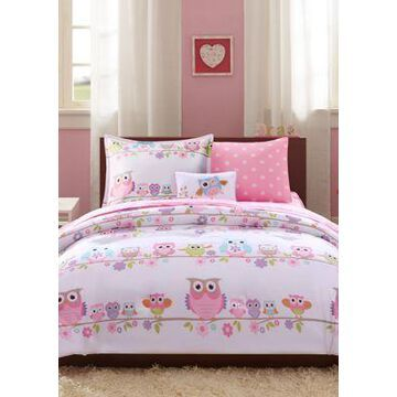 Jla Home Wise Wendy Owl Complete Bed And Sheet Set - -