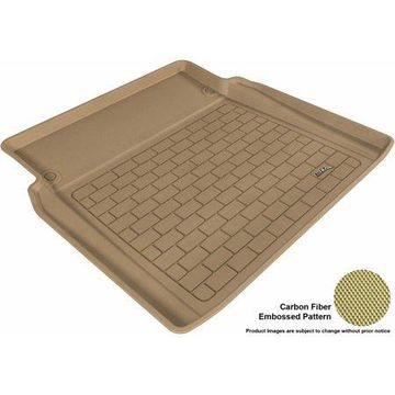 3D MAXpider 2007-2013 MB S-Class All Weather Cargo Liner in Tan with Carbon Fiber Look