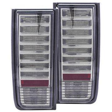 Anzo USA LED Tail Lights in Smoke, LED Tail Lights - 321246