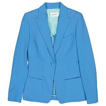 Emilio Pucci Blue Wool Jackets