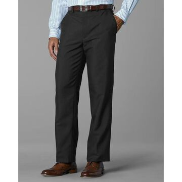 Twin Hill Mens Pant Charcoal Performance Flat Front