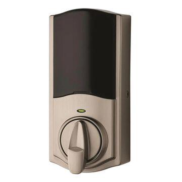 Kwikset Kevo Convert Satin Nickel Bluetooth Enabled Electronic Deadbolt No Keypad | 925 KEVO CONVERT 15