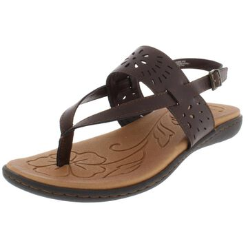 B.O.C. Womens Clearwater Flat Sandals Slingback Sandals