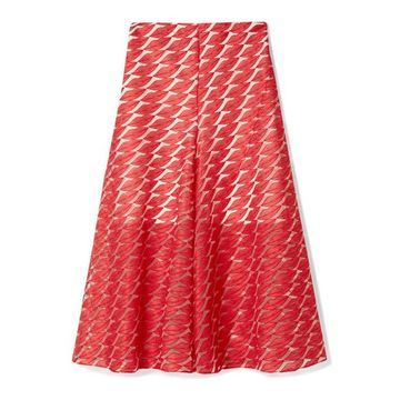 Akris - Embroidered Tulle Skirt