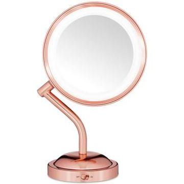 Conair Reflection Rose Gold Light Mirror Bedding