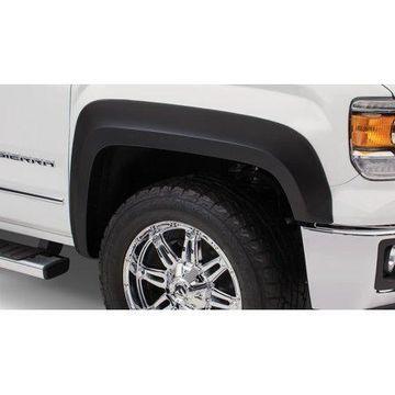 Bushwacker 16-18 GMC Sierra 1500 Extend-A-Fender Style Flares 4pc - Black