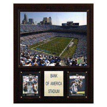 C&I Collectables NFL 12x15 Bank of America Stadium Plaque