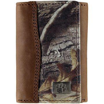 Clemson Tigers Tri-Fold Camo Wallet