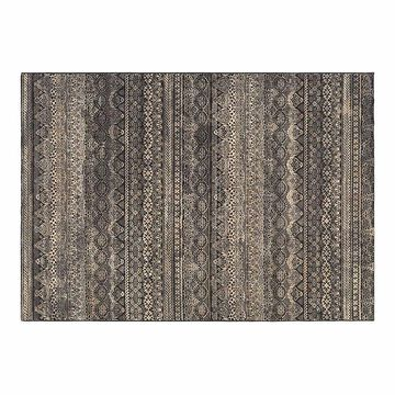 Couristan Easton Capella Area Rug, Black, 5X7.5 Ft
