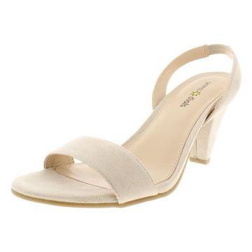 Seven Dials Womens Ramsbury Faux Suede Slingback Dress Sandals